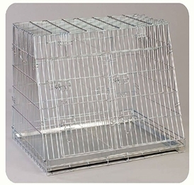 YD019-2 galvanized wire dog crate